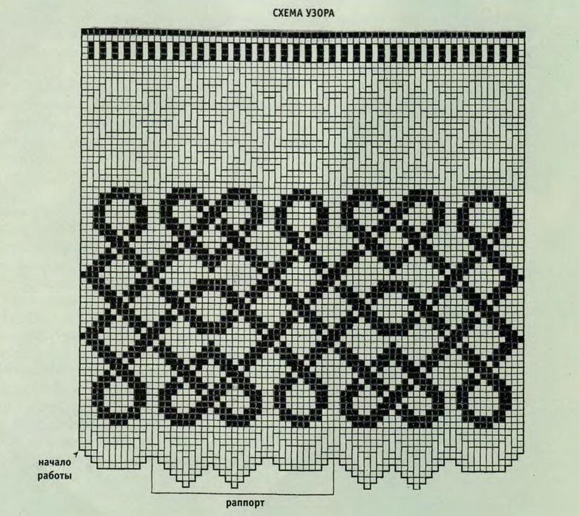 Греческие узоры для вязания 37